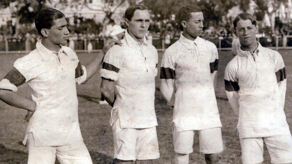 fbe82eeedb3e9 A época em que a seleção brasileira era formada por filhos de imigrantes -  Esportes - R7 Copa 2018