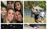 Joana Prado e Vitor Belfort são casados há quase 17 anos e, dessa união, nasceram Davi, Vitória e Kyara. Os três não quiseram seguir os mesmos passos do pai, ex-campeão do UFC, na luta, mas também encontraram a paixão pelo esporte em outras modalidades; confira