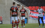 Filipe Luís, Flamengo x Atlético-MG,