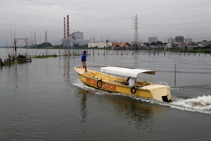 Ventos e chuvas atingem as Filipinas com aproximação de forte tufão