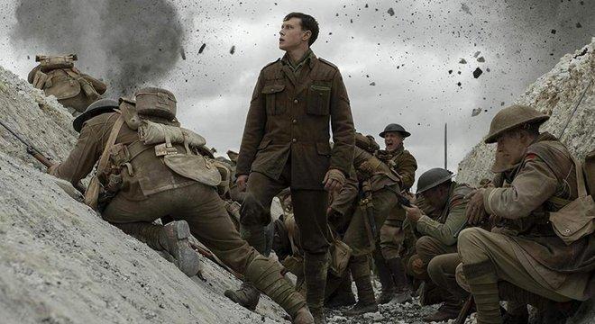 Dirigido por Sam Mendes, o filme de guerra '1917' superou a mais recente edição de Star Wars nas bilheterias dos EUA