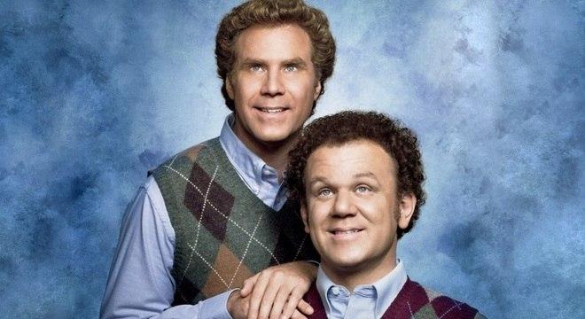 O filme 'Quase Irmãos' traz os atores Will Ferrell e John C. Reilly