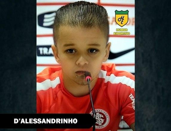 Filtro de bebê do Snapchat - D'Alessandro