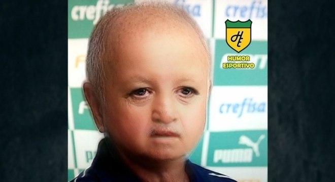 Filtro de bebê do Snapchat - Felipão