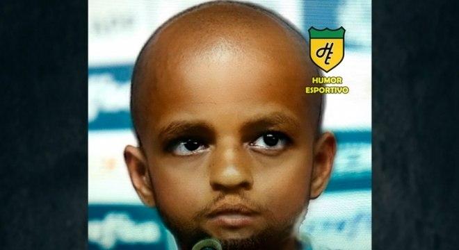 Filtro de bebê do Snapchat - Felipe Melo