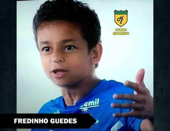 Filtro de bebê do Snapchat - Fred