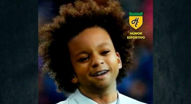 Filtro de bebê do Snapchat - Marcelo