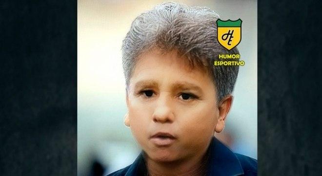 Filtro de bebê do Snapchat - Renato Portaluppi