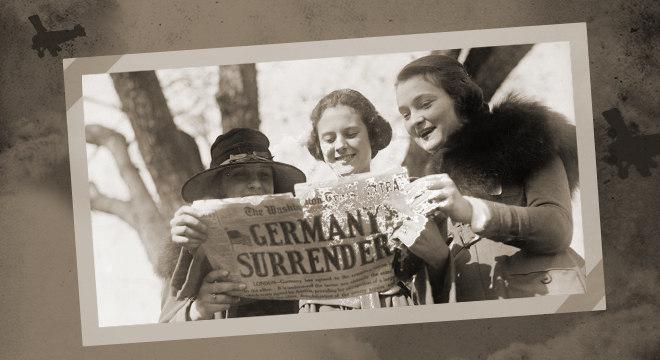 Em 11 de novembro de 1918, a manchete mundial era a rendição da Alemanha
