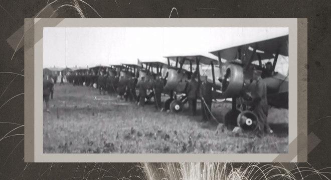 Nos anos 1910, potências investiam em novas tecnologias de guerra, como aviões
