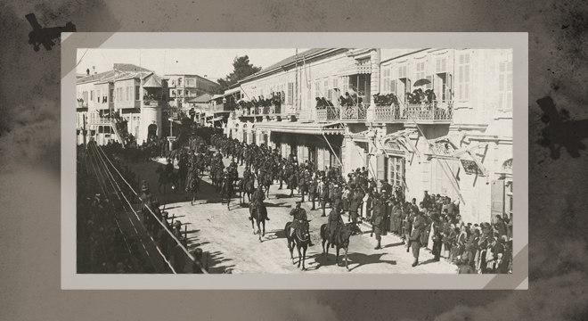 Britânicos, comandadas pelo general Allenby, entram em Jerusalém em 1917