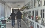 Os gaúchos também aproveitaram a manhã desta segunda-feira (02), Dia de Finados, para visitar parentes em cemitérios da capital