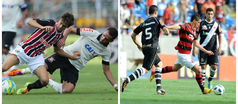 Corinthians x São Paulo e Flamengo x Vasco decidem no eixo Rio-SP