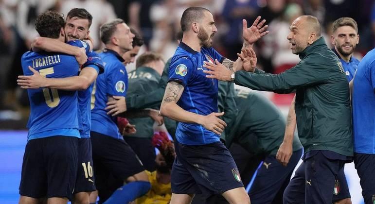 Italianos foram campeões em uma partida dramática, resolvida apenas nos pênaltis
