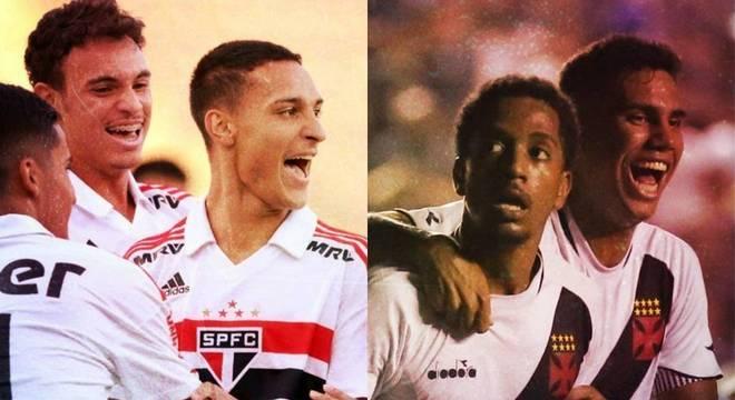 São Paulo e Vasco decidem final da Copinha pela 2ª vez na história