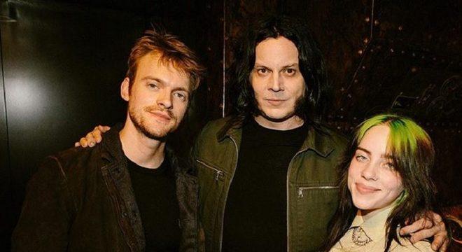 Finneas, Jack White e Billie Eilish
