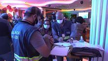 Operação em SP tem 25 detidos e interdita quatro estabelecimentos