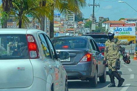 Regiões da capital maranhense tiveram trânsito intenso