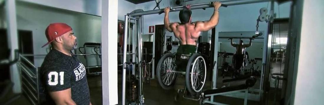 Faça Parte: Mineiro é destaque no fisiculturismo em cadeira de rodas
