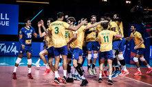 Brasil vira sobre Polônia e ganha inédito título da Liga das Nações