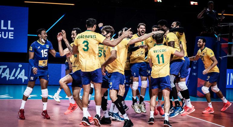 Brasil vence a competição pela primeira vez após vitória de virada contra europeus