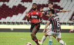 Segundo tempo também foi bem disputado, mas com Flamengo ainda melhor