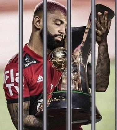 Flagrado em cassino clandestino, Gabigol vira alvo de memes dos torcedores