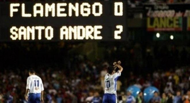 Em 2004, foi a vez do Santo André frustrar a Nação