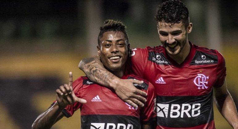Bruno Henrique marcou e filosofou. 'Se o Flamengo perder o Carioca será uma dor de cabeça'