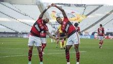 Flamengo transformou Itaquera no Maracanã. 3 a 1 foi muito pouco