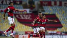 Max. Garoto repete Gerson. Dá a vitória ao Flamengo. E sonha