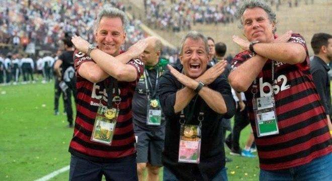 Só verá o 'democrático' Flamengo no domingo, quem pagar. R$ 10,00 e R$ 42,00