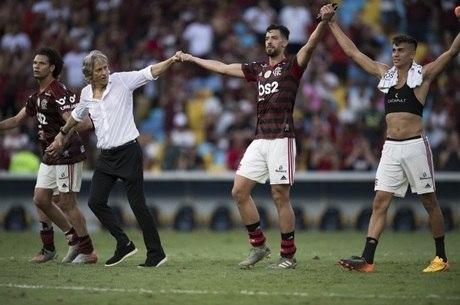 Flamengo se prepara para final contra o River