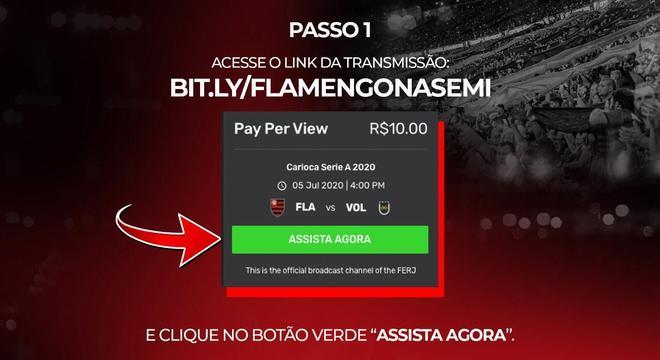 O Flamengo teve de liberar a transmissão gratuita do jogo. Castigo do destino