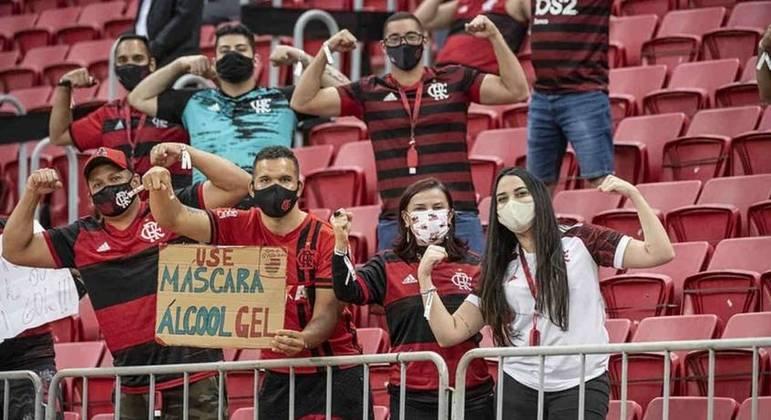 Flamengo conseguiu a liberação de torcedores na Libertadores. Em Brasília