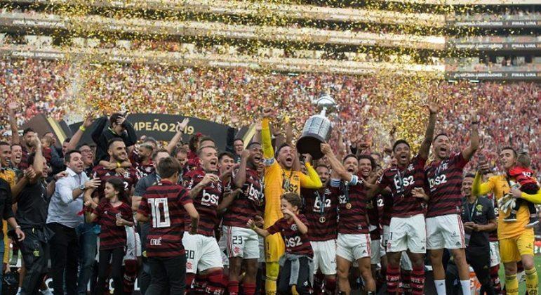 Flamengo e River Plate decidiram a Libertadores de 2019 em Lima. No estádio lotado