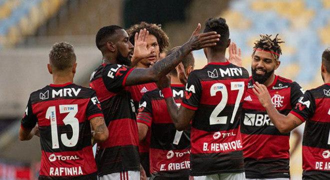 O Flamengo perde um jogador para a final da Taça Rio. Coronavírus