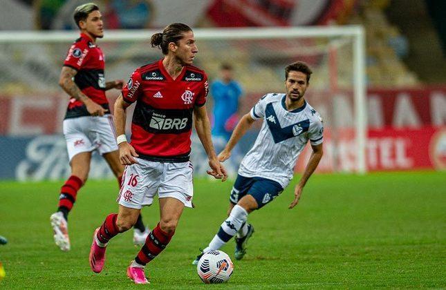 Flamengo 0x0 Vélez Sarsfield (ARG) - 6ª rodada da fase de grupos da Libertadores, no Maracanã: empate sem gols garantiu o primeiro lugar do Grupo G ao Flamengo