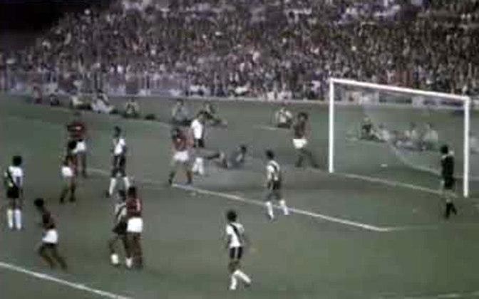 Flamengo 1 x 0 Vasco, em 6 de maio de 1973, em noite de rodada dupla pelo Campeonato Carioca - público de 160.342