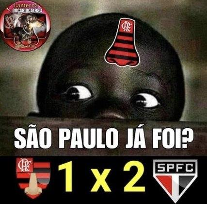 Flamengo 1 x 2 São Paulo: estreia de Rogério Ceni com derrota rendeu memes