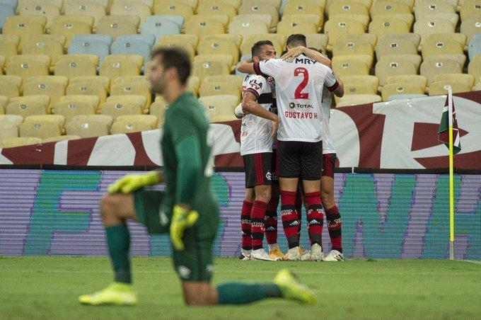 Flamengo já é vice-líder do Brasileiro. Confiança voltou à Gávea