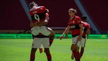 Diego Alves espetacular. Flamengo bicampeão da Supercopa