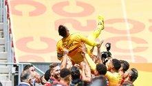 Diego Alves avisa: 'Sede do Flamengo de novos títulos continua'