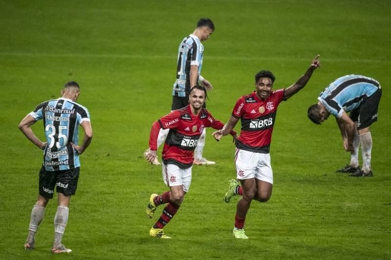 Flamengo goleou o Grêmio. 4 a 0, em Porto Alegre. Tem certeza de público no Maracanã