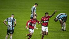 Vitória do Flamengo por público no Maracanã. Grêmio já se conforma