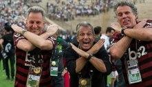 Até nos bastidores, o Flamengo é outro patamar. Venceu 17 clubes e terá sua torcida no Maracanã