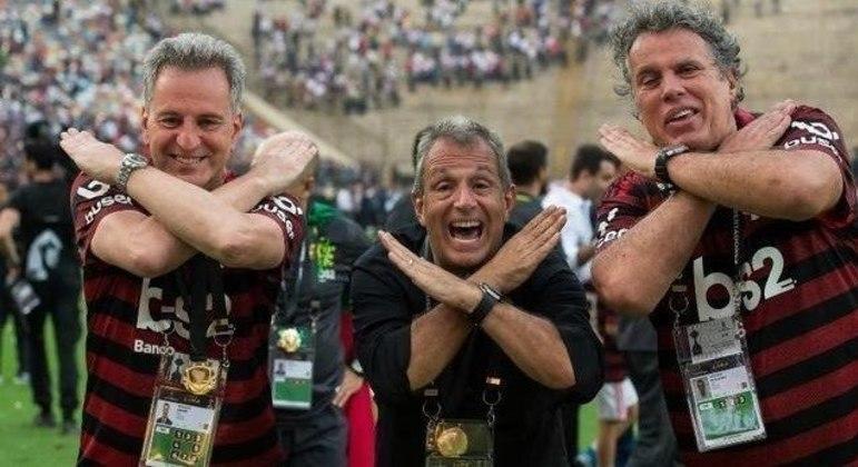 Diretoria do Flamengo teve vitória importantíssima. Público liberado em torneios nacionais