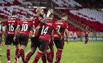 O elenco do Flamengo é um dos mais badalados do Brasil, com Gabigol, Éverton Ribeiro, Gérson, Bruno Henrique e Arrascaeta. O Rubro-Negro desembolsou R$666,31 milhões no seu elenco, que valorizou e hoje vale cerca de R$ 819,37 milhões. Por isso, segundo o Transfermarkt, foi valorizado em R$ 153 milhões