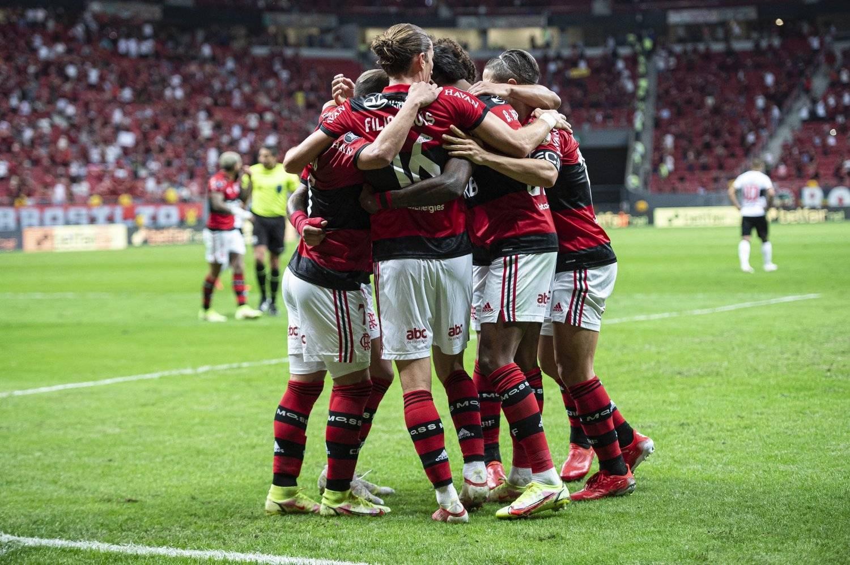 Flamengo de Renato Gaúcho. Números muito melhores do que com Jorge Jesus