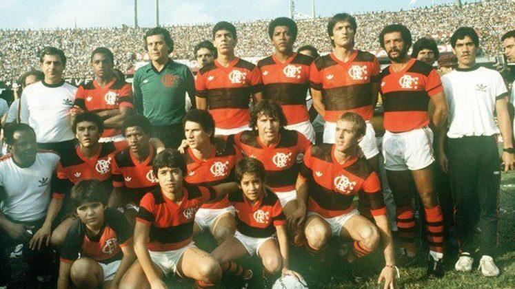 Flamengo 1983 - Média de público como mandante: 59.332